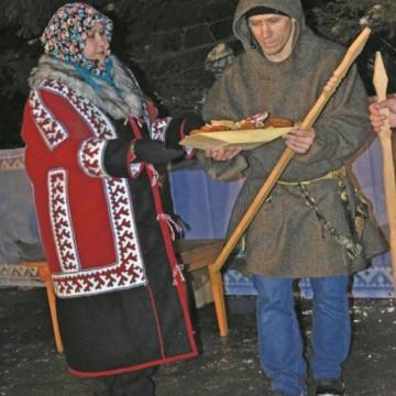 Ф.П. Иштимирова  па А. Брусницын