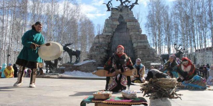 Ханты-мансийцы встретили «Вороний день» – праздник весны, тепла и рождения детей