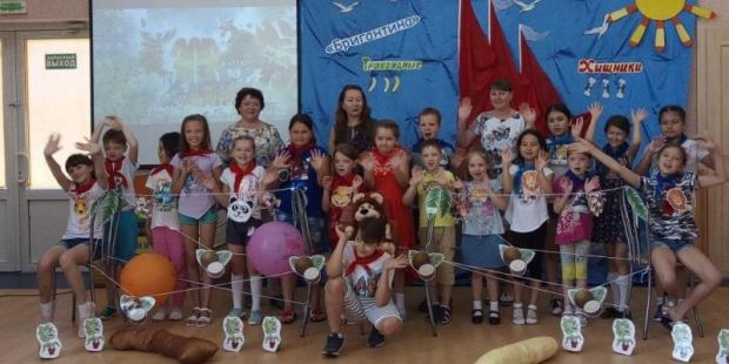 Весёлая «Бригантина» в Ханты-Мансийске