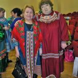 В.Е. Швецова па Л.А. Алфёрова