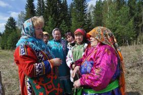 Встреча на древней земле. Фото Раисы Решетниковой