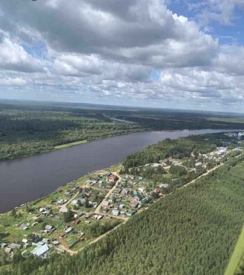 Фото Л. Теткиной. п. Хулимсунт, река Северная Сосьва
